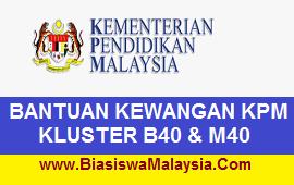 Kementerian Pendidikan Malaysia (KPM) Scholarships – Cluster B40 dan M40