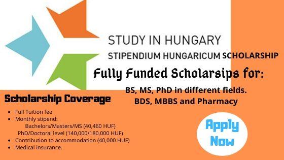 Biasiswa Kerajaan Hungary – Stipendium Hungaricum Scholarship Programme