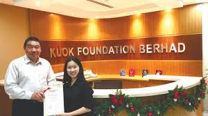 Biasiswa Kuok Foundation Berhad – Undergraduate Studies