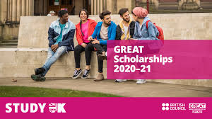 British Council GREAT Scholarships 2020