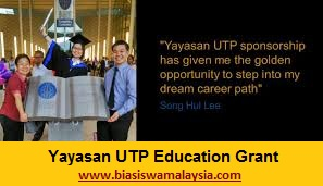 Biasiswa Yayasan UTP Education Grant