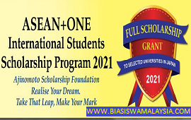 Biasiswa Ajinomoto Postgraduate Scholarship