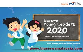 Biasiswa Young Leaders Yayasan Telekom Malaysia Scholarship 2020