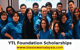 Biasiswa YTL Foundation Scholarship Programme
