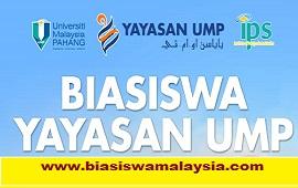 Biasiswa Yayasan Universiti Malaysia Pahang (UMP)