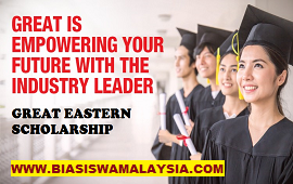 Biasiswa Great Eastern Scholarship 2020