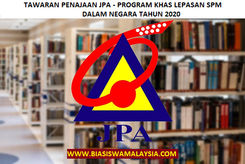 Biasiswa JPA – Program Khas Lepasan SPM Dalam Negara
