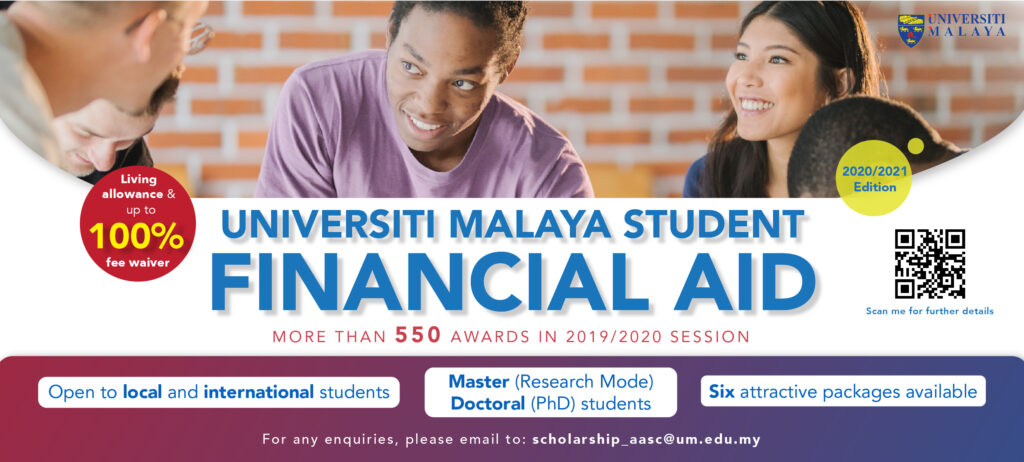 Biasiswa Universiti Malaya Student Financial Aid Award