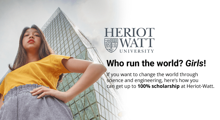 Biasiswa Heriot-Watt's Women in Science and Engineering (WISE) Scholarship