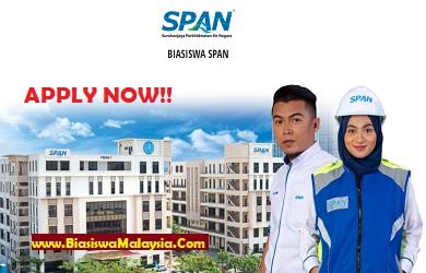 Biasiswa Suruhanjaya Perkhidmatan Air Negara (SPAN) Scholarship 2021