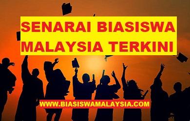 UPDATED! 2021/2022 | Senarai Tawaran Biasiswa Lepasan SPM/STPM/Diploma/Ijazah