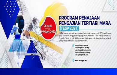Tajaan MARA | Program Penajaan Pengajian Tertiari (TESP)