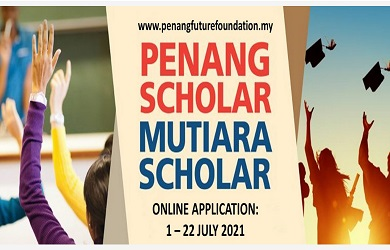 Biasiswa Penang Future Foundation Scholarship